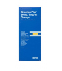 ZINCATION PLUS 10 mg/4 mg/ml Champú 500ml
