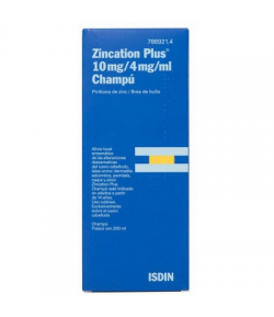ZINCATION PLUS 10 mg/4 mg/ml Champú 200ml