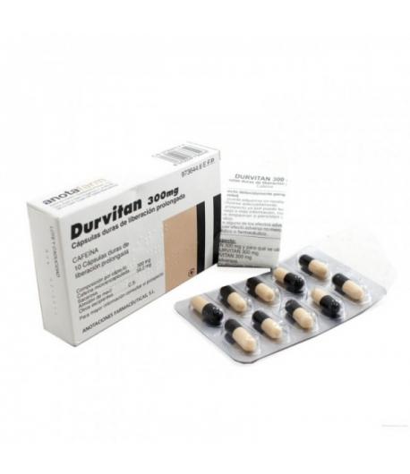 DURVITAN 300 mg 10caps Otras vitaminas