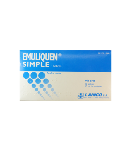 EMULIQUEN SIMPLE emulsión oral en sobres 15ml 10sob Estreñimiento