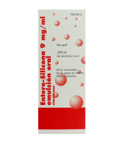 ENTERO SILICONA 9 mg/ml emulsión oral 250ml
