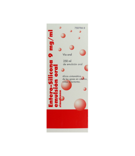 ENTERO SILICONA 9 mg/ml emulsión oral 250ml Gases