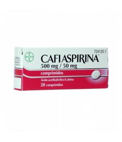 CAFIASPIRINA 500 mg/ 50 mg 20comp