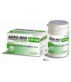 AERO RED 120mg 40 comprimidos masticables sabor menta