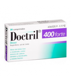 DOCTRIL FORTE 400mg 20comp recubiertos