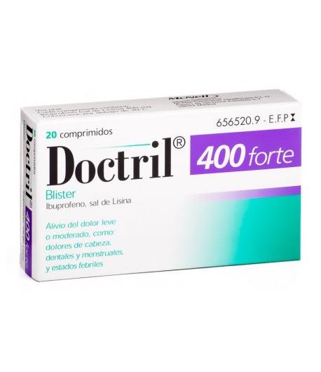 DOCTRIL FORTE 400mg 20comp recubiertos Antiinflamatorios