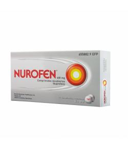 NUROFEN 400 mg 12comp recubiertos