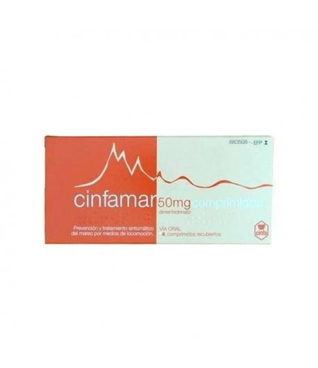 CINFAMAR 50 mg 4comp Cápsulas/ Comprimidos