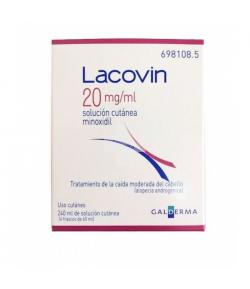 LACOVIN 20 mg/ml Solución Cutánea 240ml