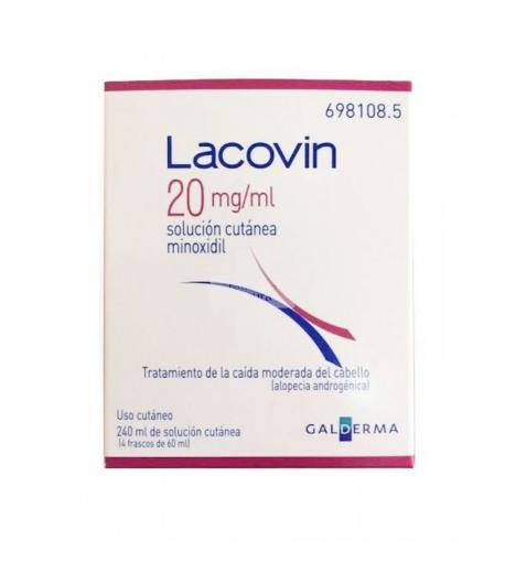 LACOVIN 20 mg/ml Solución Cutánea 240ml Capilar
