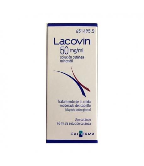 LACOVIN 50 mg/ml Solución Cutánea 60ml Capilar