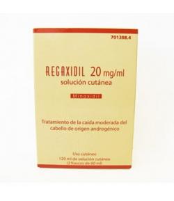 REGAXIDIL 20 mg/ml Solución Cutánea 120ml