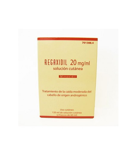 REGAXIDIL 20 mg/ml Solución Cutánea 120ml Capilar