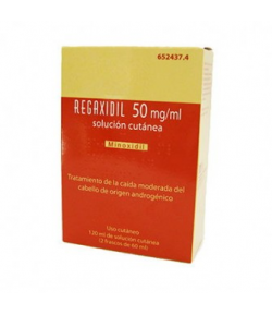 REGAXIDIL 50 mg/ml Solución Cutánea 120ml