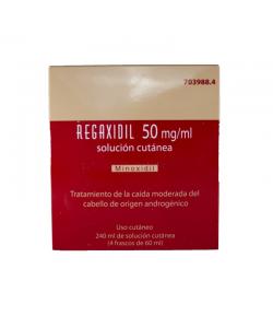 REGAXIDIL 50 mg/ml Solución Cutánea 240ml