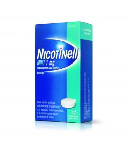 NICOTINELL Mint 1 mg 36comp para chupar Tabaquismo