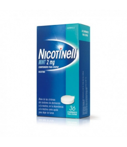 NICOTINELL Mint 2 mg 36comp para chupar Tabaquismo