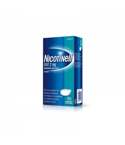 NICOTINELL Mint 2 mg 96comp para chupar Tabaquismo