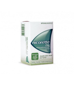 Nicorette 2 mg 105 Chicles Medicamentosos Tabaquismo