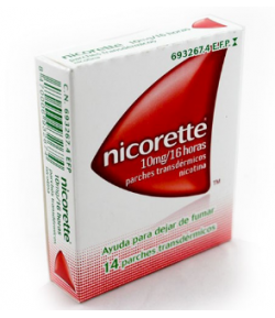 Nicorette Clear 10mg/16 horas 14 Parches Transdérmicos