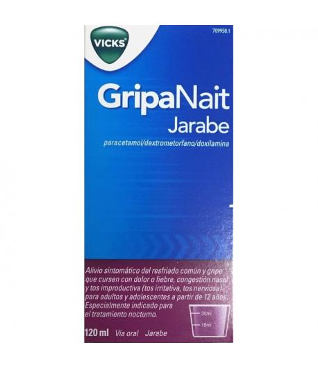 GripaNait Jarabe 120ml Antigripales