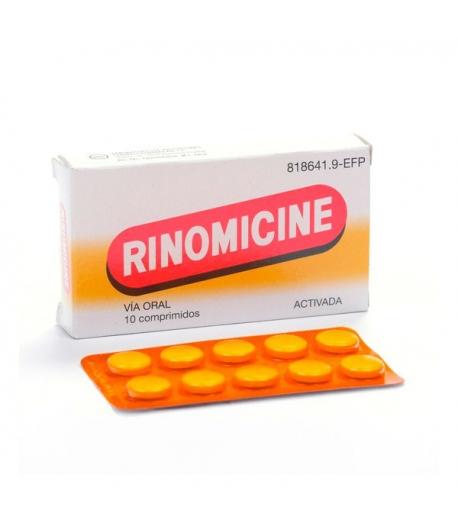 RINOMICINE ACTIVADA 10comp Cápsulas/ Comprimidos