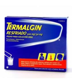 TERMALGIN RESFRIADO granulado para solución oral 10sob