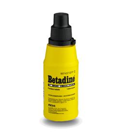 Solución Dérmica BETADINE 125ml Infecciones/ Heridas