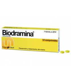 Biodramina 12comp