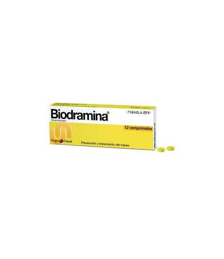 Biodramina 12comp Cápsulas/ Comprimidos