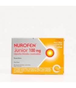Nurofen Junior 100mg 12 cápsulas blandas masticables