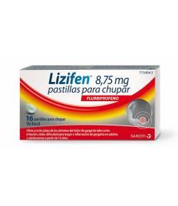 Lizifen 8,75 mg 16 pastillas para chupar
