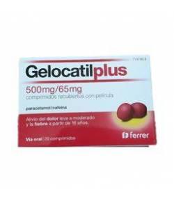 GELOCATIL plus 20comp Cápsulas/ Comprimidos