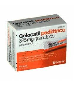 GELOCATIL 325 mg granulado 12sob