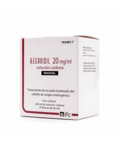 REGAXIDIL 20 mg/ml Solución Cutánea 240ml