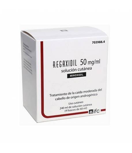 REGAXIDIL 50 mg/ml Solución Cutánea 240ml Inicio