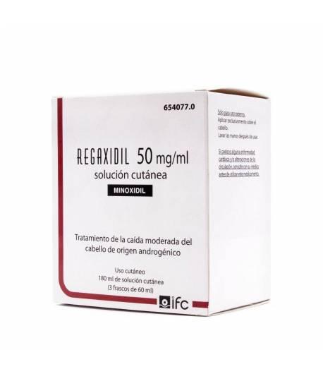 REGAXIDIL 50 mg/ml Solución Cutánea 180ml Capilar