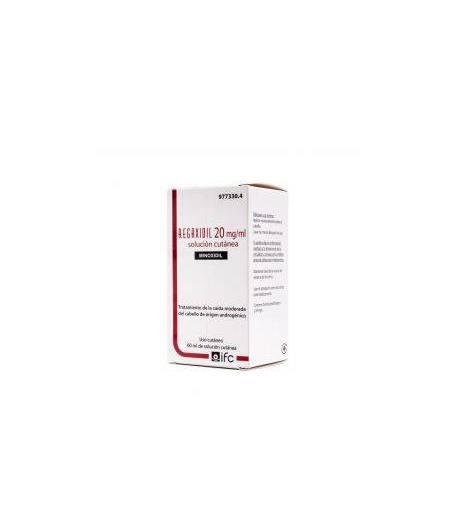 REGAXIDIL 20 mg/ml Solución Cutánea 60ml Capilar