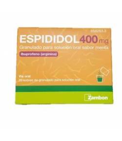 Espididol 400mg 20 sobres granulado para solución oral menta