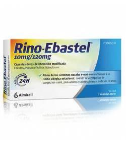 Rino-Ebastel 10mg/120mg 7 Cápsulas duras de liberación modificada Vía Oral
