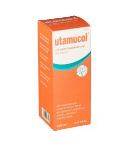 Utamucol 2.5mg/ml Suspensión Oral, 1 Frasco de 200ml