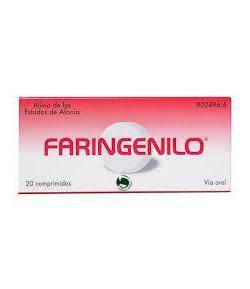 Faringenilo 20 Comprimidos Dolor de garganta