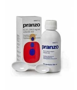 Pranzo 62.5 / 1.25 / 0.5ml Solución Oral, 1 Frasco de 200ml