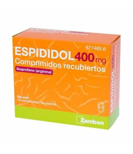 Espididol 400 mg 12 comprimidos recubiertos Antiinflamatorios